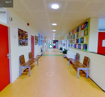 360 graden tour door de school